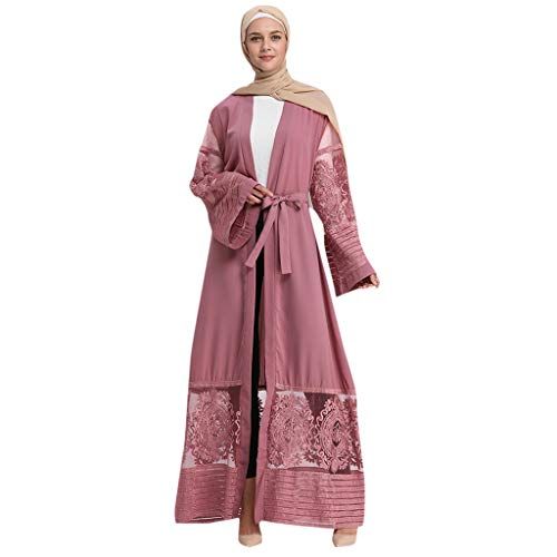 Hijab Femme Musulmane,Robe Musulmane Femme Turque Moderne Grande Taille Pas Cher Musulman Robe De Soiree Caftan Oriental Dubai Kaftan Abaya Festival du Ramadan Mariage Robe Islamique