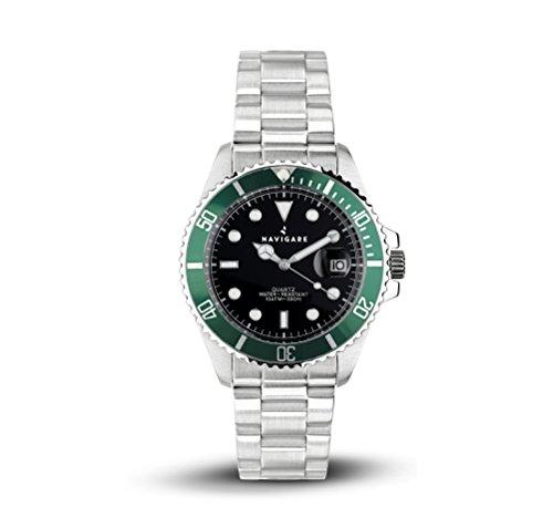 Horloge Navigare Saint Paul groen model Rolex