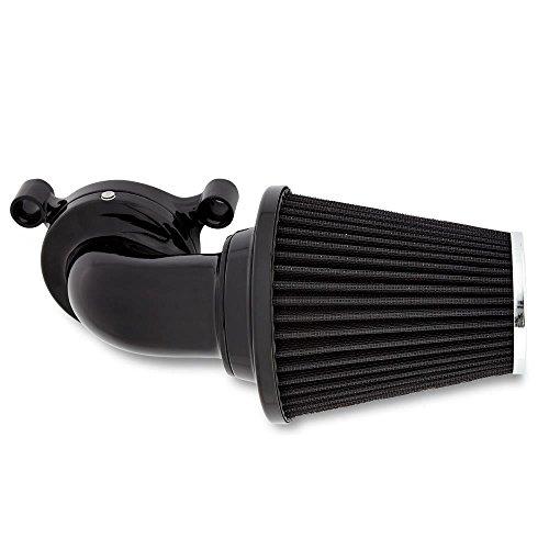 Arlen Ness 90 Degree Monster Sucker Air Cleaner No Cover Black 81-005