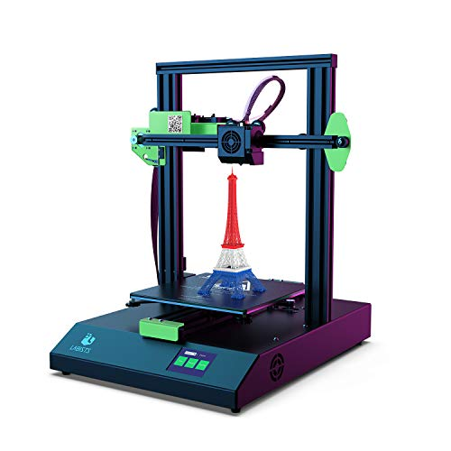 LABISTS 3D Printer with Touch Screen 220 x 220 x 250mm for PLA, ABS Filament, Auto Leveling, Hot Bed, Filament Runout Detection, Power Failure Resume Print, Fast Assembly and Fast Print