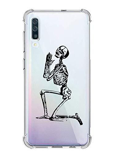 Oihxse Transparent Silicone Mignon Case Compatible pour Samsung Galaxy Note 9 Coque TPU Souple Ultra Mince Housse Clear Crystal Design Motif Anti-Scrach Protection Etui Bumper (A9)
