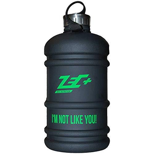 ZEC+ NUTRITION Wasserflasche WATER JUG in Schwarz 2,2l