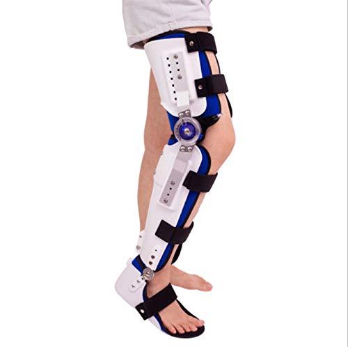 Candyana knä fotfot-ortos stöd lägre kantstöd rehabilitering justerbar knäled fotstöd ortos