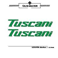 Danhomer ヒュンダイTuscaniでTuscaniでのロゴのためのステッカー反射ステッカー防水モト保護カバーデカールフィルム車のステッカー (Color : Reflective green)