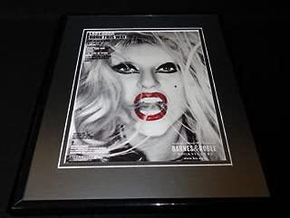Lady Gaga 2011 Born This Way Ball Framed ORIGINAL 11x14 Vintage Advertisement