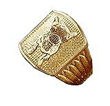 KkllaaWW Fotoring 925 Sterling Silber Ring Personalisierter Ring Katzen-/Hundering Gravierter Text(Gold 54 (17.2))