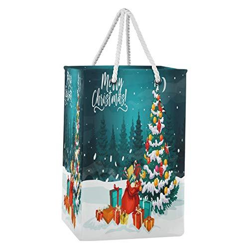 Blueangle - Cesta para ropa sucia para árbol de Navidad