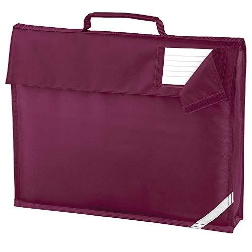 Quadra Unisex Junior Classic Colours School Book Bag One Size
