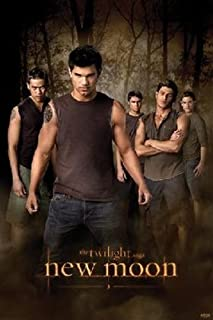 Imaginus Posters Twilight Wolf Pack New Moon Jacob Black Taylor Lautner Movie Poster 24 x 36 inches