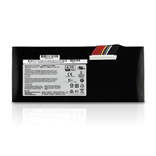 BTY-L77 Batería para MSI GT72 2PC 2PE 2QD 2QE 6QD 6QE GT72S G-037 6QD 6QE 6QF GT72VR 6RD 6RE 7RD 7RE 6QE-233NE WT72 2OM 2OK 6QL 6QK 6QN 6QM 6QJ 6QI Dominator Pro MS-1781 MS-1782 MS-1783 MS-1785 Akku