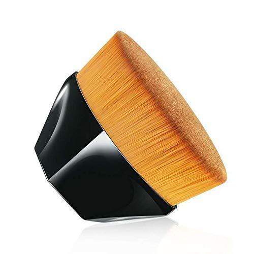 Toysdone Foundation Makeup Brush - Flat Top Kabuki Brush for Blending Liquid, Cream or Foundation Cosmetics