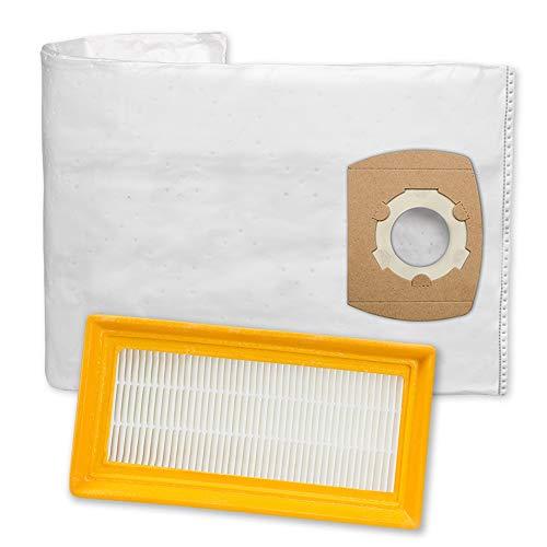 10 hochwertige Staubsaugerbeutel + 1 Filter passend für Sicherheitssauger Flex S47 - Bestleistung beim Saugen - Hochwertige Qualität