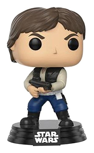 POP! Star Wars: Celebration (2017) Han Solo Action - Juego de cartas