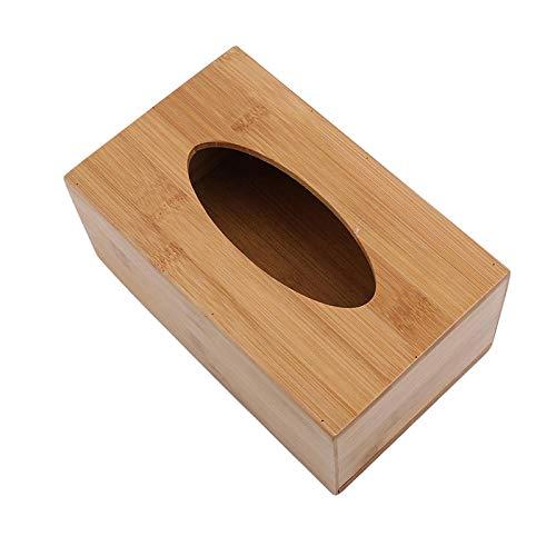Caja De Pañuelos Rubik Estilo De Moda Caja De Pañuelos De Bambú De Madera Ecológica Tipo De Asiento Creativo Rollo De Papel Caja De Pañuelos Accesorios De Decoración De Mesa-19,7 X 11,8 X 9 Cm