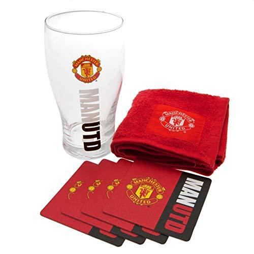 Manchester United Work Mark Mini-Bar-Set, mehrfarbig