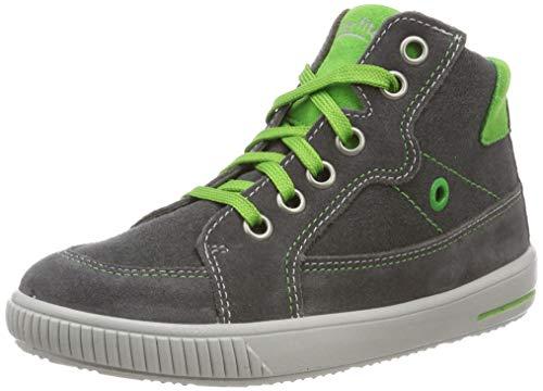 Superfit Baby Jungen Moppy Sneaker, Grau (Grau/Grün 20), 25 EU