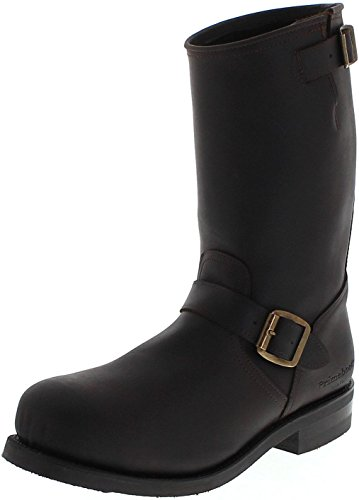 FB Fashion Boots Unisex Biker Boots 43479 Testa Engineerstiefel Braun Primeboots 43 EU