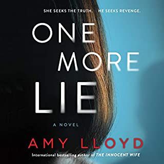 One More Lie audiobook cover art