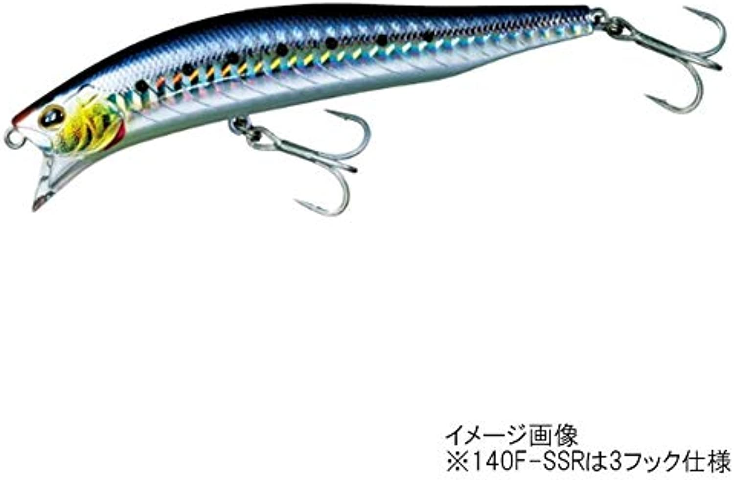 Daiwa (Daiwa) minnow sea bass More Than cross wake-140F-SSR sardines lure