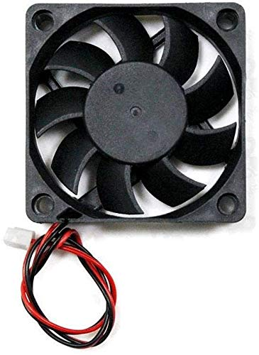 JJDSN Accesorios de Impresora 3D, Ventilador de refrigeración 3 Piezas 12v 6015 60 60 15 mm con Cable para Impresora de Piezas de Impresora 3D