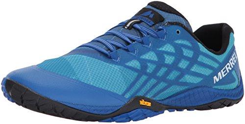 Merrell Men's Trail Glove 4 Runner, Nautical, 8.5 M US
