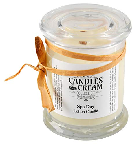 Candles and Cream Spa Day Lotion Candle