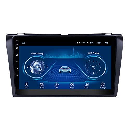 WY-CAR Android 8.1 Car Player con Pantalla Táctil De 9 Pulgadas GPS Navi para Mazda 3 2004-2009 Mirror Link (iOS, Android) Radio FM WiFi Bluetooth Multimedia