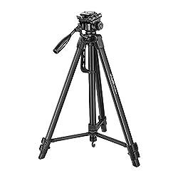 Digitek DTR 550LW Lightweight Tripod (Maximum Load up to 5 kg), 5.57 Feet Tall for Digital SLR & Video Cameras, Made Aluminium Material (DTR 550LW),IMS Mercantiles Pvt. Ltd.,DTR 550LW
