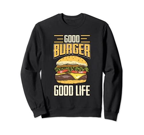 Burger Cheeseburger Papier - Prensa para hamburguesas Sudadera