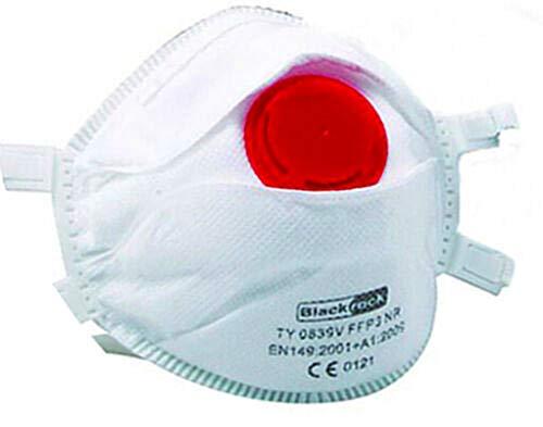Mascarilla FFP3 con válvula, protección máxima contra el Polvo y contaminantes