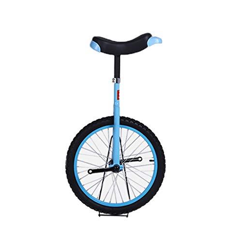 Monociclos Monociclo Hijos Adultos Acrobacia, Bicicleta Equilibrio con Ergonómico De Una Silla, con Estrías Tija De Sillín, Neumáticos Generosas, Ergonómico Monociclo, For La Aptitud Deportes