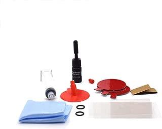 KKmoon Kits de Reparación de parabrisas, Herramientas de bricolaje ventana de Coche,Restauración de grietas de parabrisas de vidrio