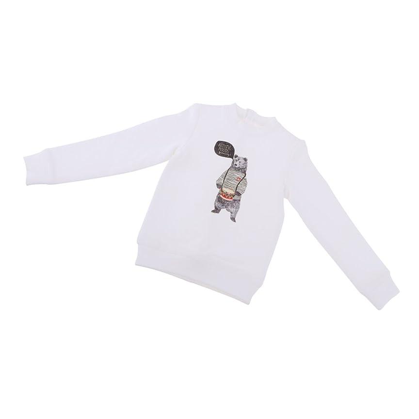 ネーピア艦隊遅れ人形服 長袖Tシャツ 布製 1/3 BJD SD人形ドール用 装飾 アクセサリー ギフト