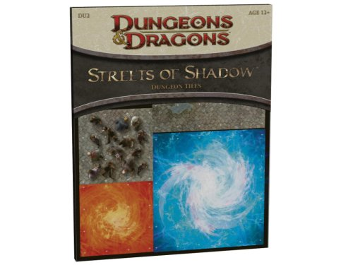 Streets of Shadow: DU2 - Dungeon Tiles (D&D Accessory)