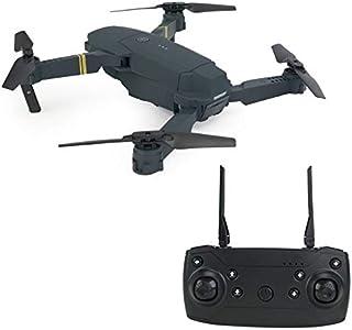 Toys DHD-DE58 Foldable Four Axis RC Quadcopter Drone Remote Control Aircraft (Black) (Color : Black)