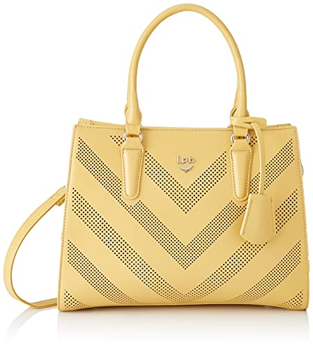 LPB Les Petits Bombes Brunilla Women's Handbag, Yellow, Medium