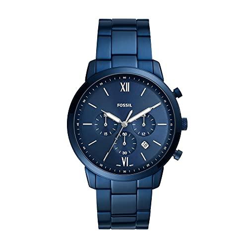 Orologio Uomo FOSSIL Neutra Chrono, misura cassa 44mm, movimento cronografo, cinturino in acciaio inossidabile
