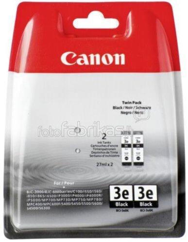 Canon BCI-3e BL Original Tintenpatronen, Doppelpack 2x 30ml schwarz