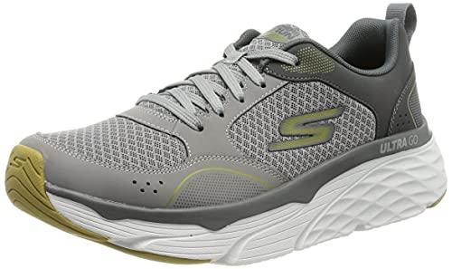 Skechers Men's MAX Cushioning Elite Road Running Shoe, Charcoal, 8.5 UK