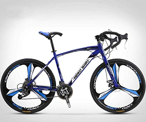 Review PLYY 26-Inch Road Bicycle, 27-Speed Bikes, Double Disc Brake, High Carbon Steel Frame, Road Bicycle Racing, Men's and Women Adult-Only