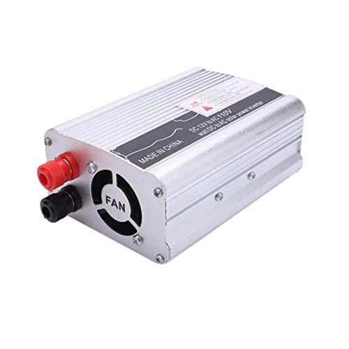 LYHY Inversor, 3000W Peak DC 12V a Ac220V / 110V AC Converter con Pantalla y Puerto USB para Coche Inverter-12V a 220V;Inversores de Plata