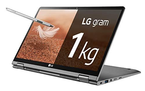 "LG gram 14T990-G - Ordenador portátil convertible - 35.5 cm (14"") - FHD IPS (1 kg, autonomía 23.5 h, Intel i7 8ª generación, 8 GB RAM, 512 GB SSD, Windows 10 Home) Color Plata - Teclado QWERTY Esp"