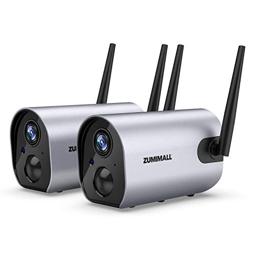 Zumimall Outdoor Security Camera, 1080P Wireless...