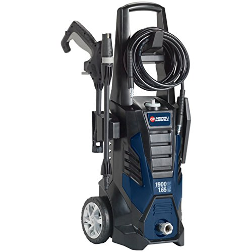 Pressure Washer, Electric Power Washer, 1900 Max PSI, 1.65 Max GPM, with Nozzles (Campbell Hausfeld PW190100)