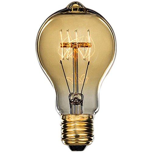 Hjuns - Lampadina E27,40W, 220V, Lampadina Edison vintage retrò stile industriale
