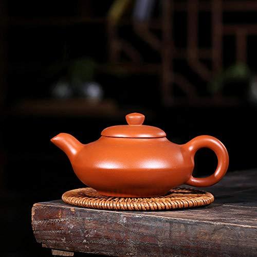 Theepotten Theepotten Gietijzeren Theepot 200ml Chinese Kung Fu Paars Zand Pot zelfgebruik Gift Tea Set