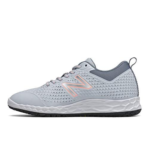 New Balance womens 806 V1 Industrial Shoe, Light Cyclone/Ocean Grey/Arctic Fox, 5 US