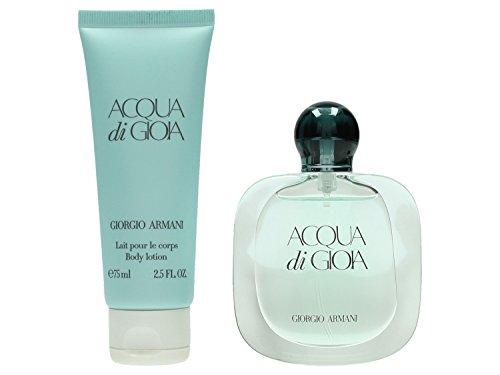 Giorgio Armani Acqua di Gioia Set femme/Women, Eau de Parfum 30 ml, Body Lotion, 1er Pack (1 x 105 ml)