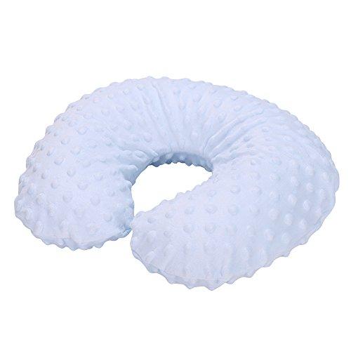 Ibluelover, cuscino da viaggio per bambini, cuscino a forma di U per supporto collo, allattamento, comodo, gonfiabile, rimovibile e lavabile, per...