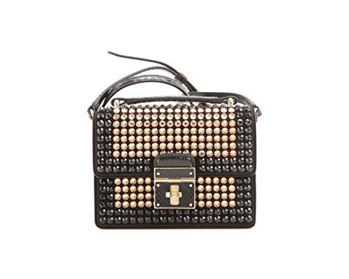 Mini-tas Süede+ayers+borduurwerk strass Dolce & Gabbana BB5914